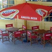 Parasol carré Amstel