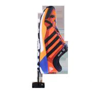Silhouette flag Adidas face
