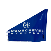 Porte SX BX VTT bleue Courchevel