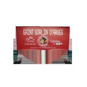 Banderole sur cadre Sybelles