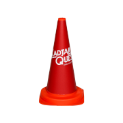 Habillage de cône routier