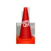 Road cone cladding