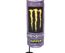 Can Flag® banner Monster