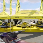 Tente pliante rectangulaire Bombardier