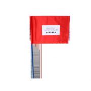 Drapeau de golf Evian Rouge