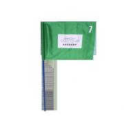 Drapeau de golf Evian Vert