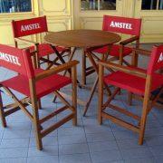 Chaise metteur en scène Amstel