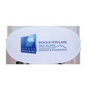 Banderole Easy frame Banque Populaire