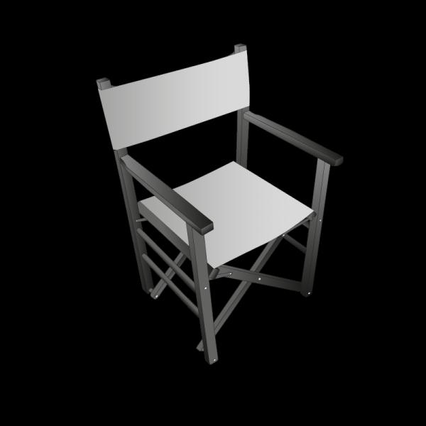 Dessin technique chaise metteur en scène