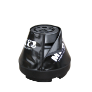 Conical water tank pole holder with cover