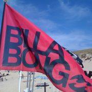 Drapeau Billabong rouge