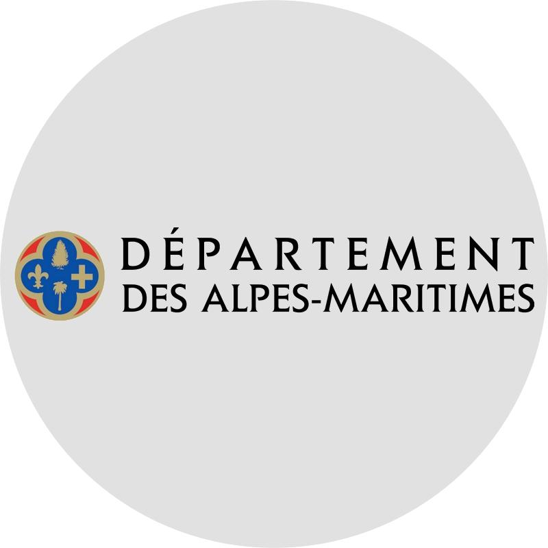 Logo Département des Alpes-Maritimes rond 800x800
