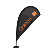 Voile Microfoil Orange