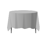 Technical drawing round Tablecloth