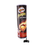Silhouette flag Pringles