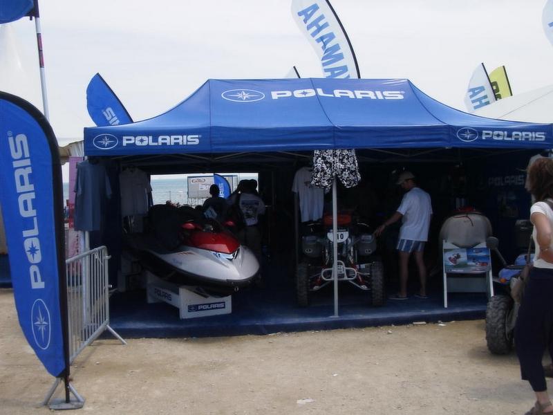Rectangular foldable tent Polaris & Rectangular foldable tent - CAP Mer et Montagne