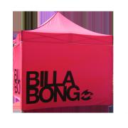 Tente pliante carrée Billabong avec murs