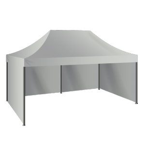 Technical drawing Rectangular foldable tent