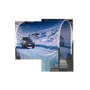 Tunnel en tissu BMW