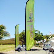 Windflex banner Canal beach