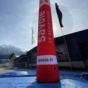 Colonne gonflable CAP Savoie