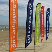 Windflex banner EDF Dunkerque