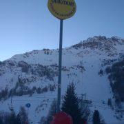 Habillage panneau signalisation CAP Val d'Isère