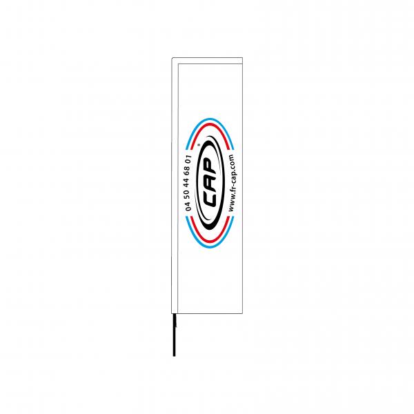 Voile Kakémono 2 350 cm