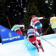 Porte skicross Megève