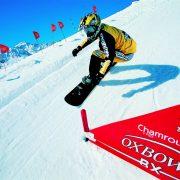 Porte SX BX VTT rouge Chamrousse