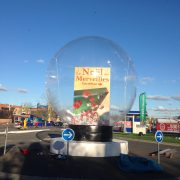 Gonflable à la forme CAP Carrefour