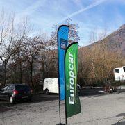 Oriflamme Windfoil 1 CAP Europcar