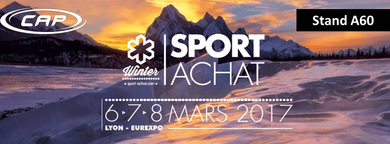 find cap at the sport achat winter 2017 exhibition in lyon on stand a60 cap mer et montagne. Black Bedroom Furniture Sets. Home Design Ideas