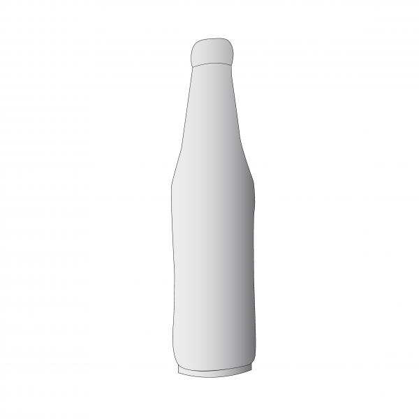 Bouteille gonflable statique