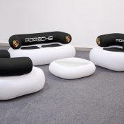 Canapé gonflable statique