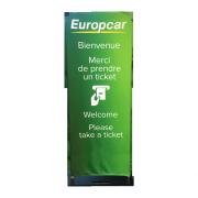 Totem housse Europcar