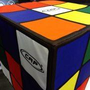 Cube en mousse